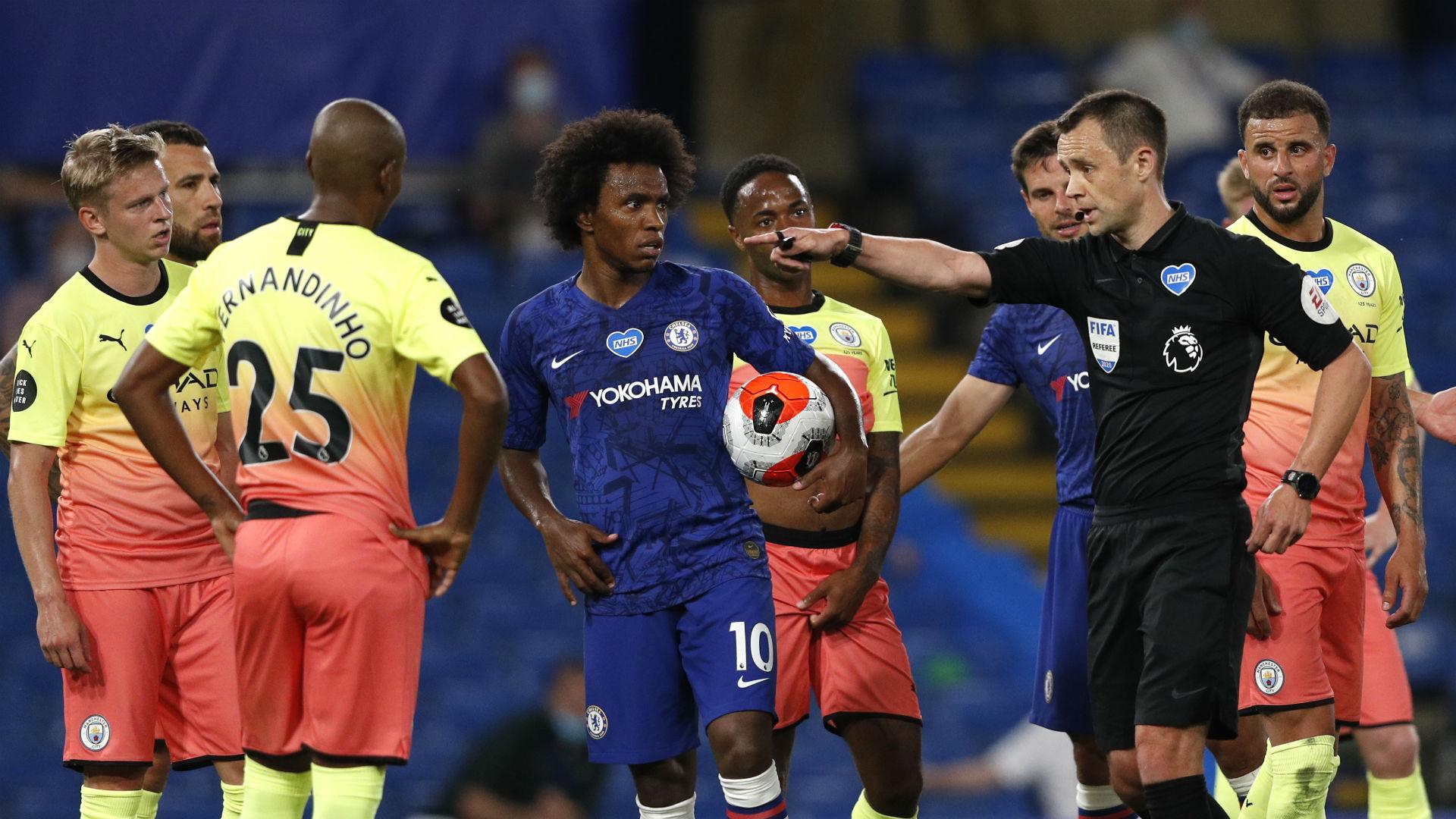 Chelsea v Manchester City Match Report, 25/06/2020, Premier League |  Goal.com