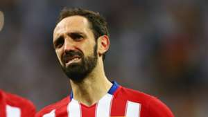 Juanfran of Atletico Madrid