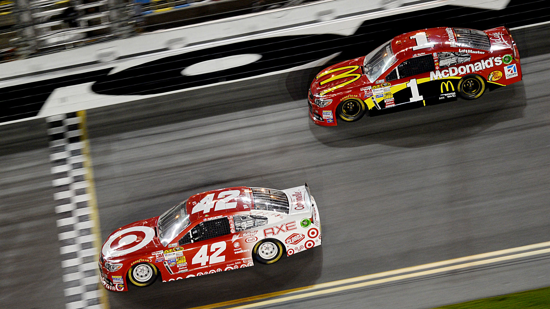 Chip Ganassi Racing Three Things To Know About Kyle Larson And Jamie Mcmurray In 2016 Sporting News