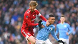 Manchester City 4-0 Fulham: Ream red paves way for FA Cup holders' triumph