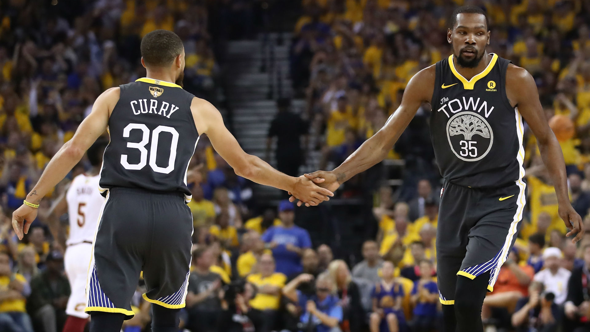 Kevin Durant Stephen Curry React To Loss To Raptors Sporting News