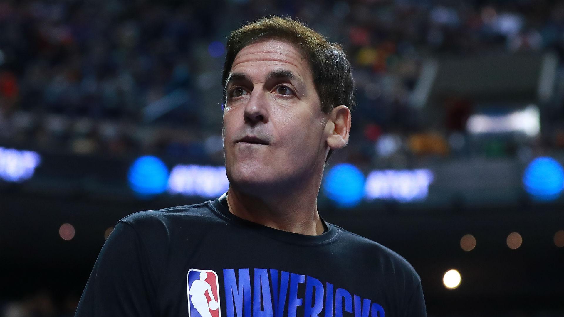 El propietario de los Mavericks, Mark Cuban, cambia su postura sobre la reanudación de la temporada de la NBA en mayo 48