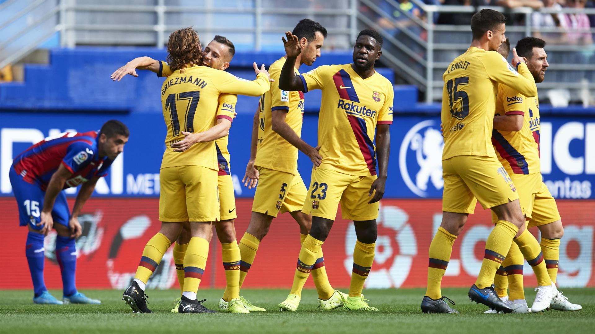Eibar v Barcelona Match Report, 19/10/2019, Primera División | Goal.com