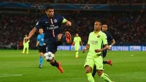 Thiago Silva challenges Neymar