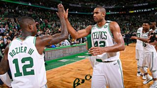 Terry Rozier and Al Horford