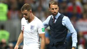Jordan Henderson and Gareth Southgate - cropped