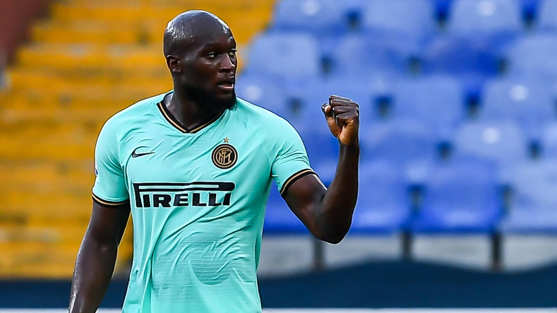 Lukaku double pulls Inter Milan second in Serie A