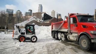Snow removal in Minneapolis
