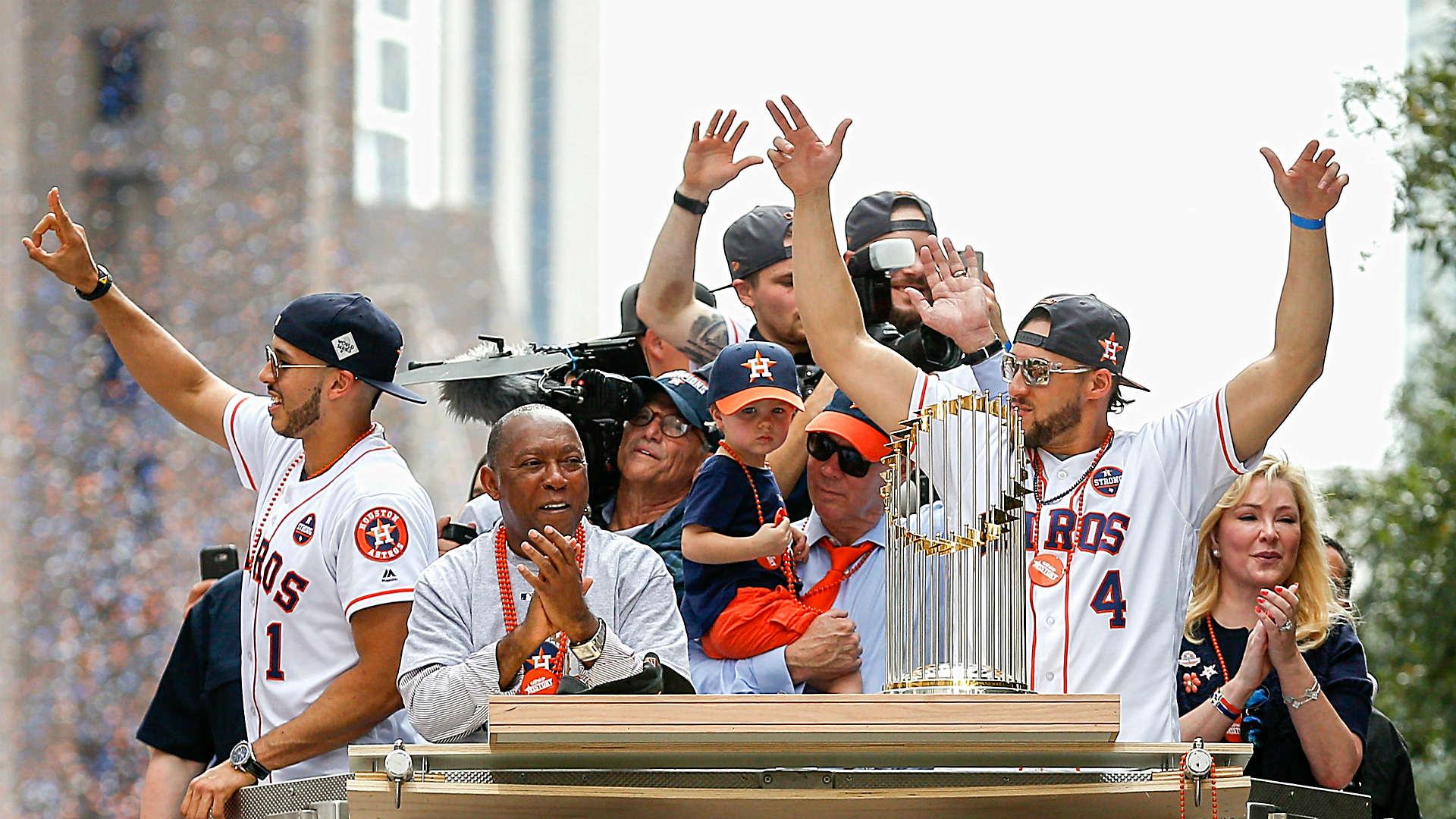 Astros World Series >> Astros World Series Trophy Damaged At Houston Gala