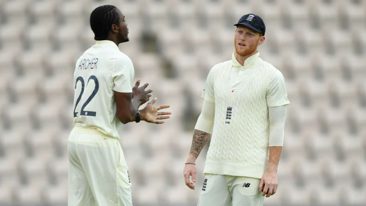 Jofra Archer and Ben Stokes - cropped