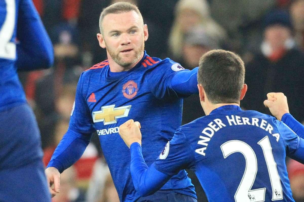 Jose Mourinho Wayne Rooney A Manchester United Legend