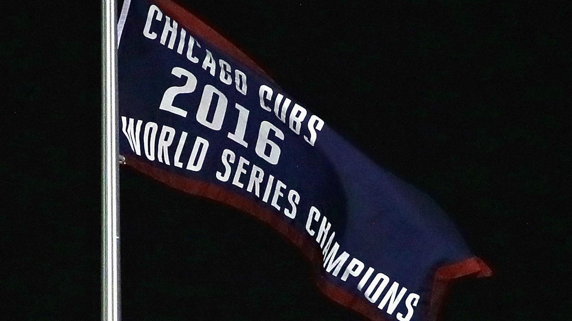 Watch Cubs Raise World Series Banner Sporting News