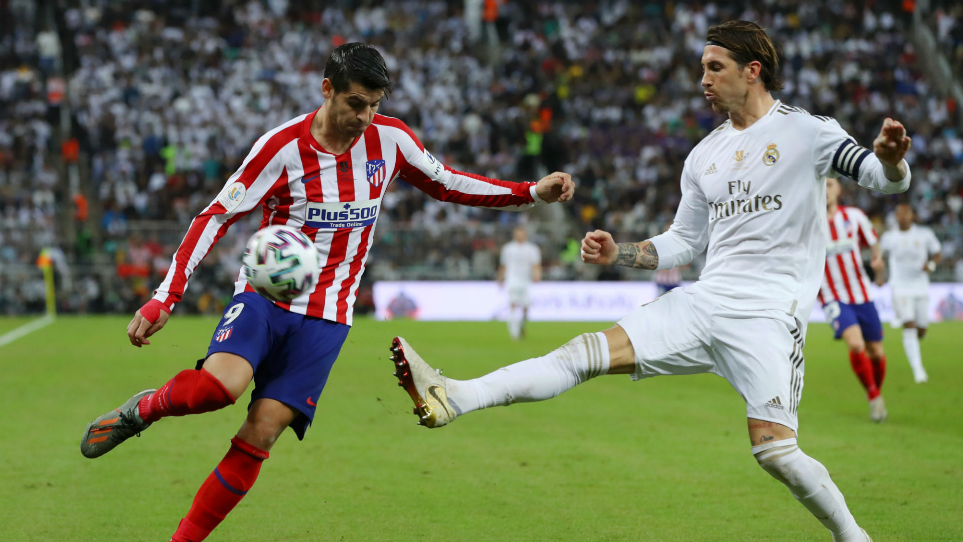 Real Madrid V Atletico Madrid Match Report 12 01 2020 Super Cup Goal Com