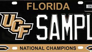 Proposed UCF National Champions license plate
