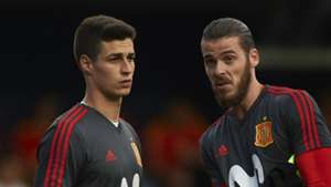 Kepa and De Gea - cropped