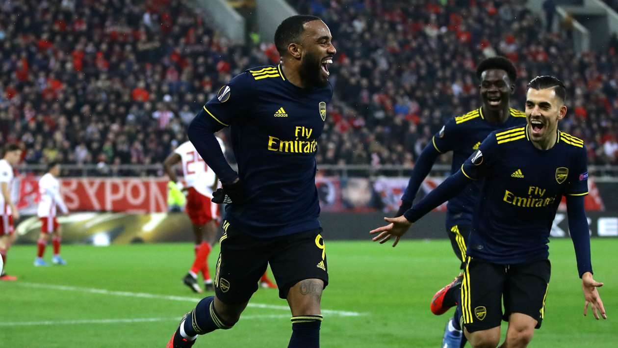 Europa League (2019-2020) Report: Olympiacos 0-1 Arsenal - Late Lacazette goal gives Gunners advantage