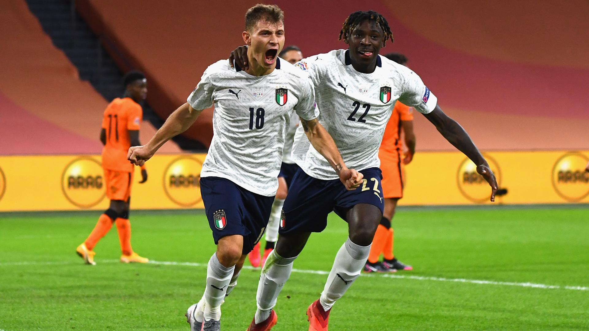 Netherlands 0-1 Italy: Barella sends Azzurri top of Group A1