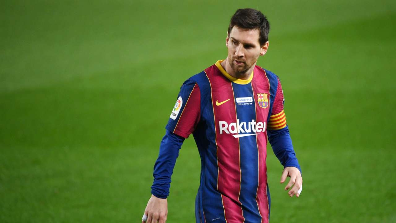 Barcelona's superstar captain Lionel Messi