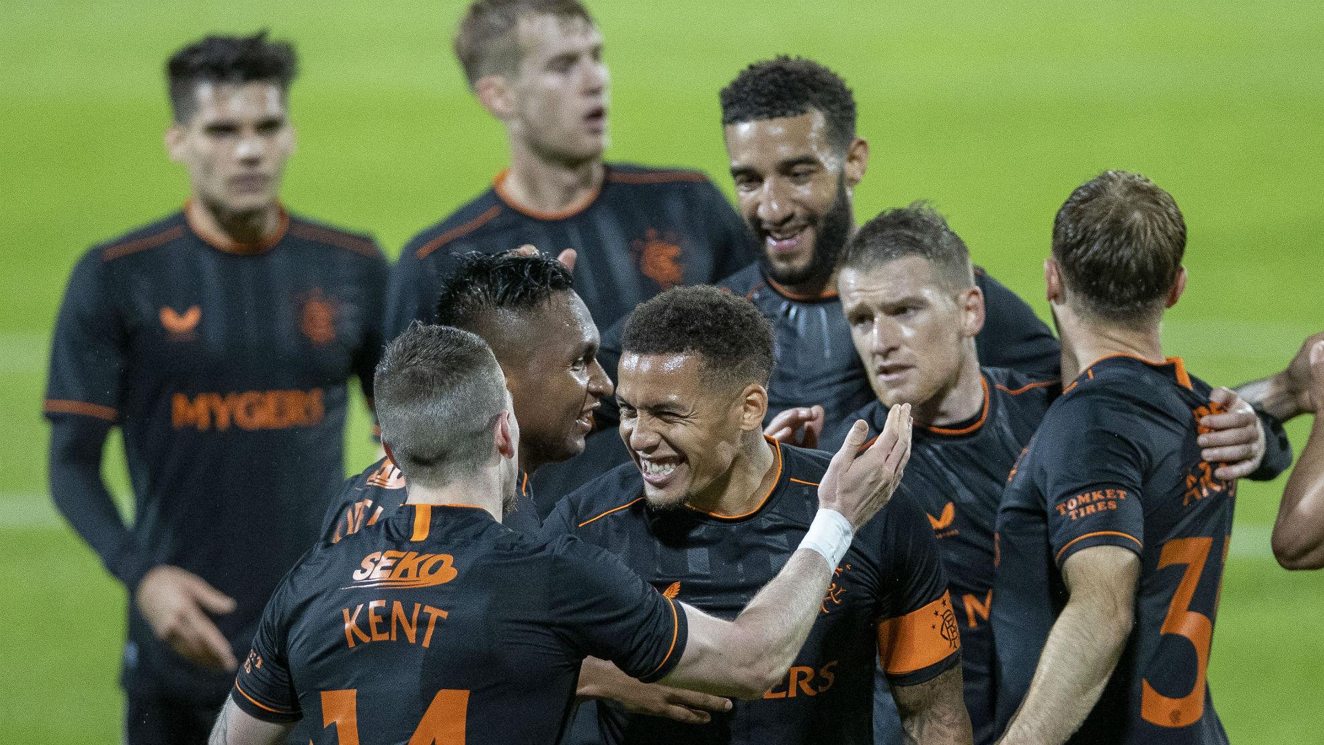 Willem II 0-4 Rangers: Ryan Kent stars as Steven Gerrard's men run riot in  Europa League qualifying | Goal.com