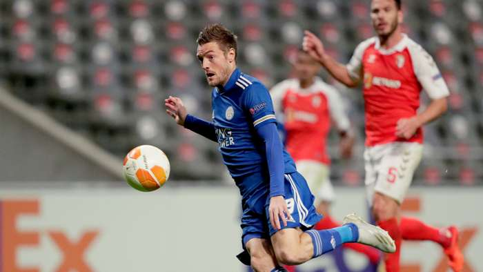 Europa League Report (2020): Braga 3-3 Leicester City - Vardy seals Europa League progression in frantic fashion