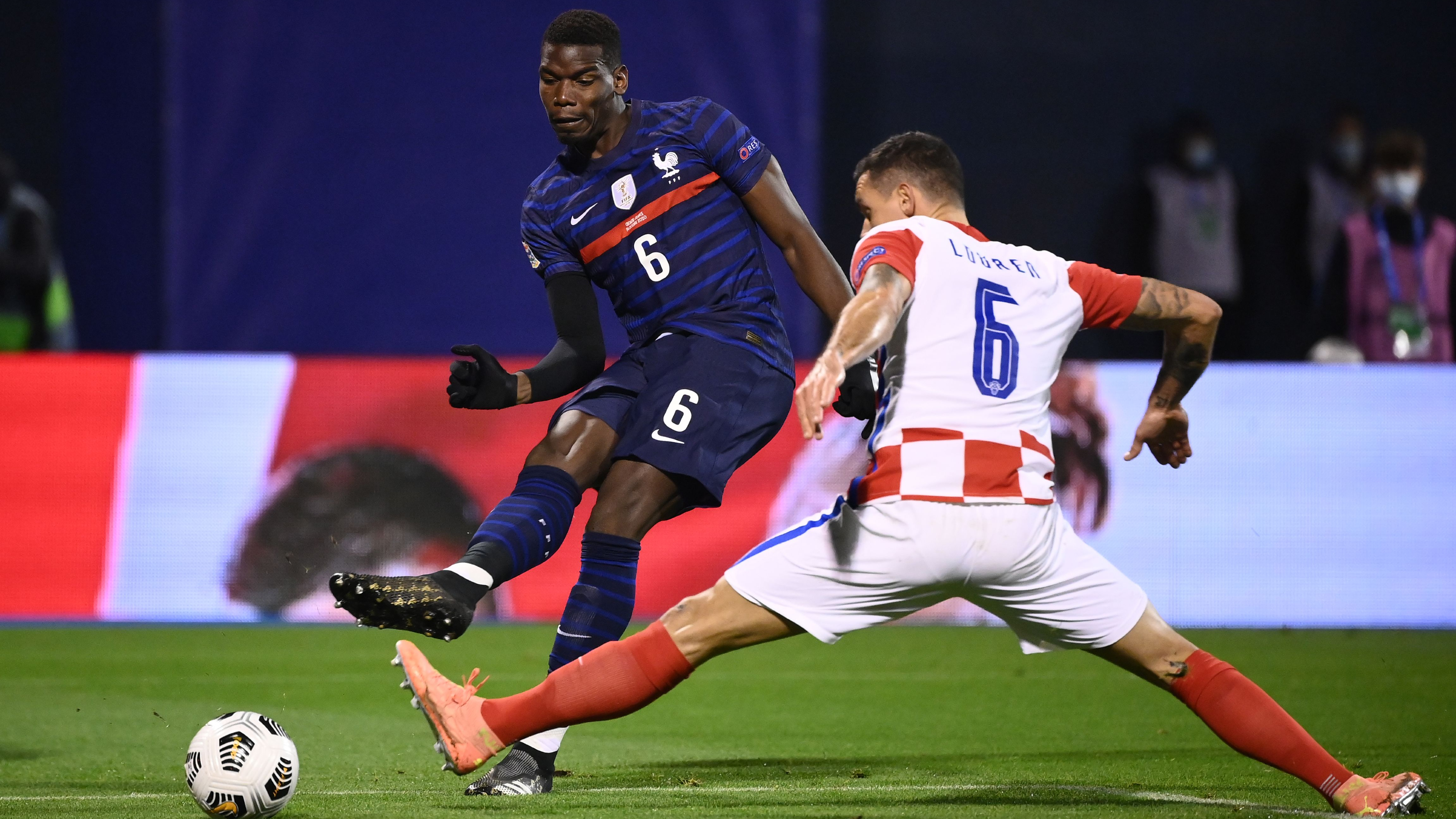 'He is one of the leaders' - Deschamps praises Pogba after France win in Croatia