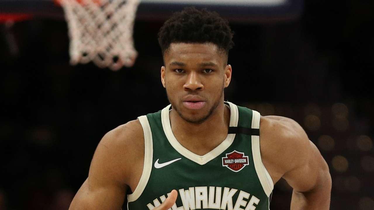 Giannis Antetokounmpo Milwaukee Bucks v Washington Wizards NBA 02242020