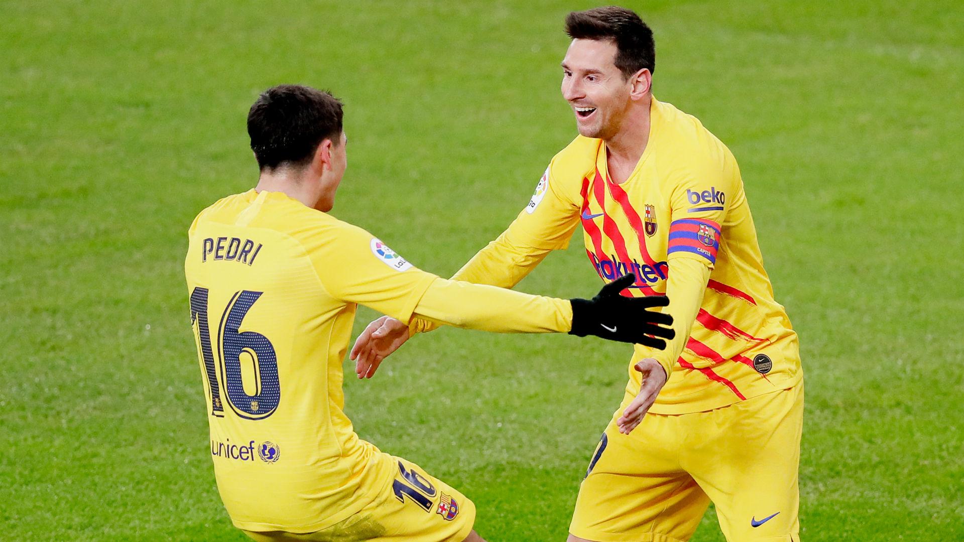Athletic Bilbao 2-3 Barcelona: Messi scores twice to spoil ...