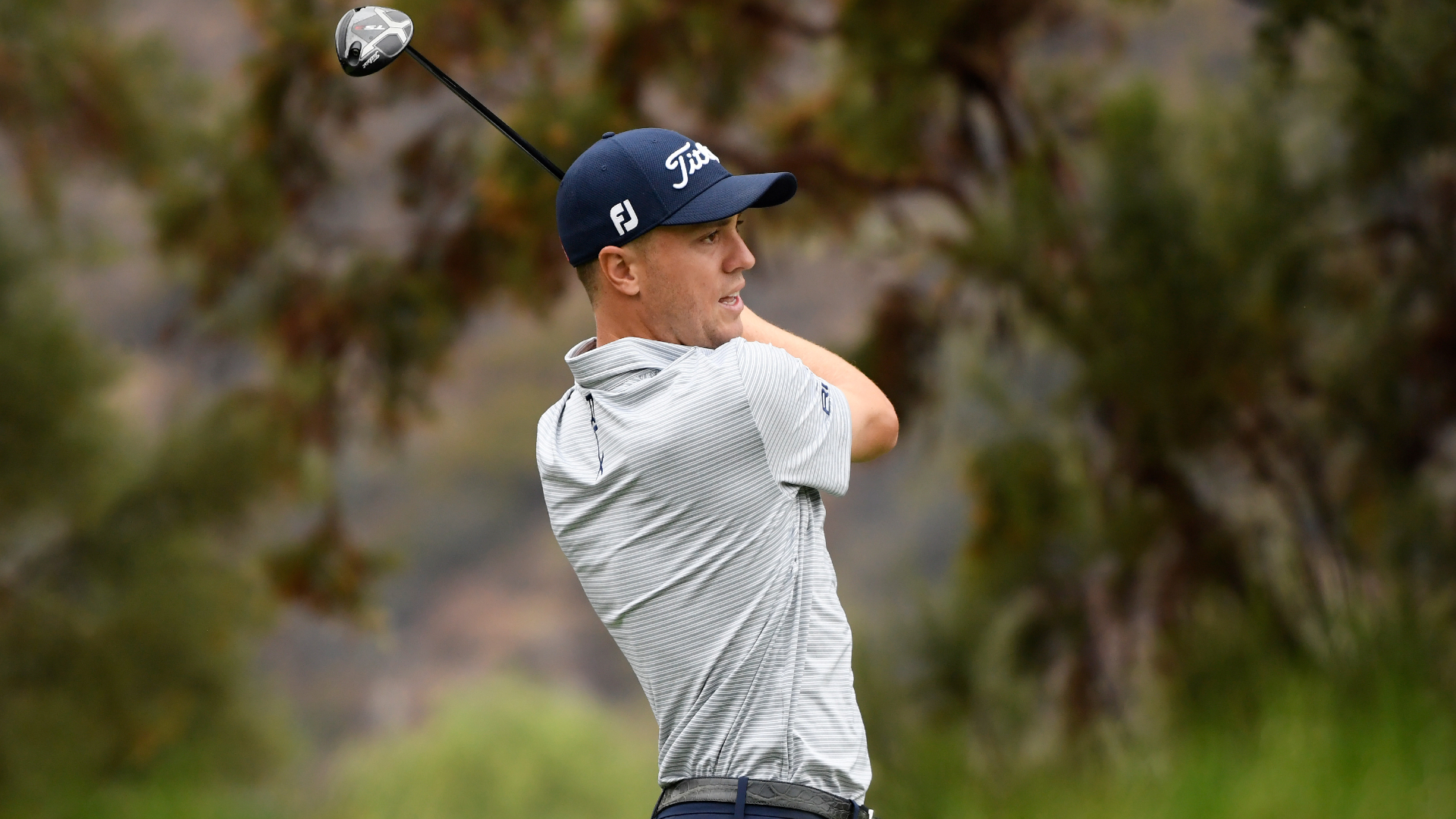 Justin Thomas leads Zozo Championship after another 65; Tiger Woods bounces back