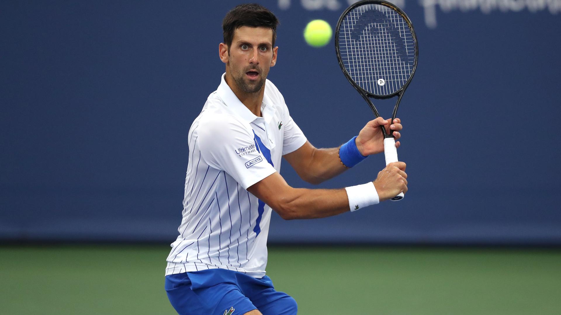 Us Open 2020 Novak Djokovic Eases Past Damir Dzumhur In First Round Sporting News Australia
