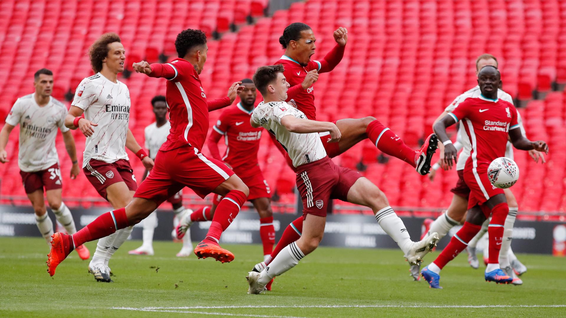 Van Dijk blames Community Shield defeat on poor Liverpool finishing