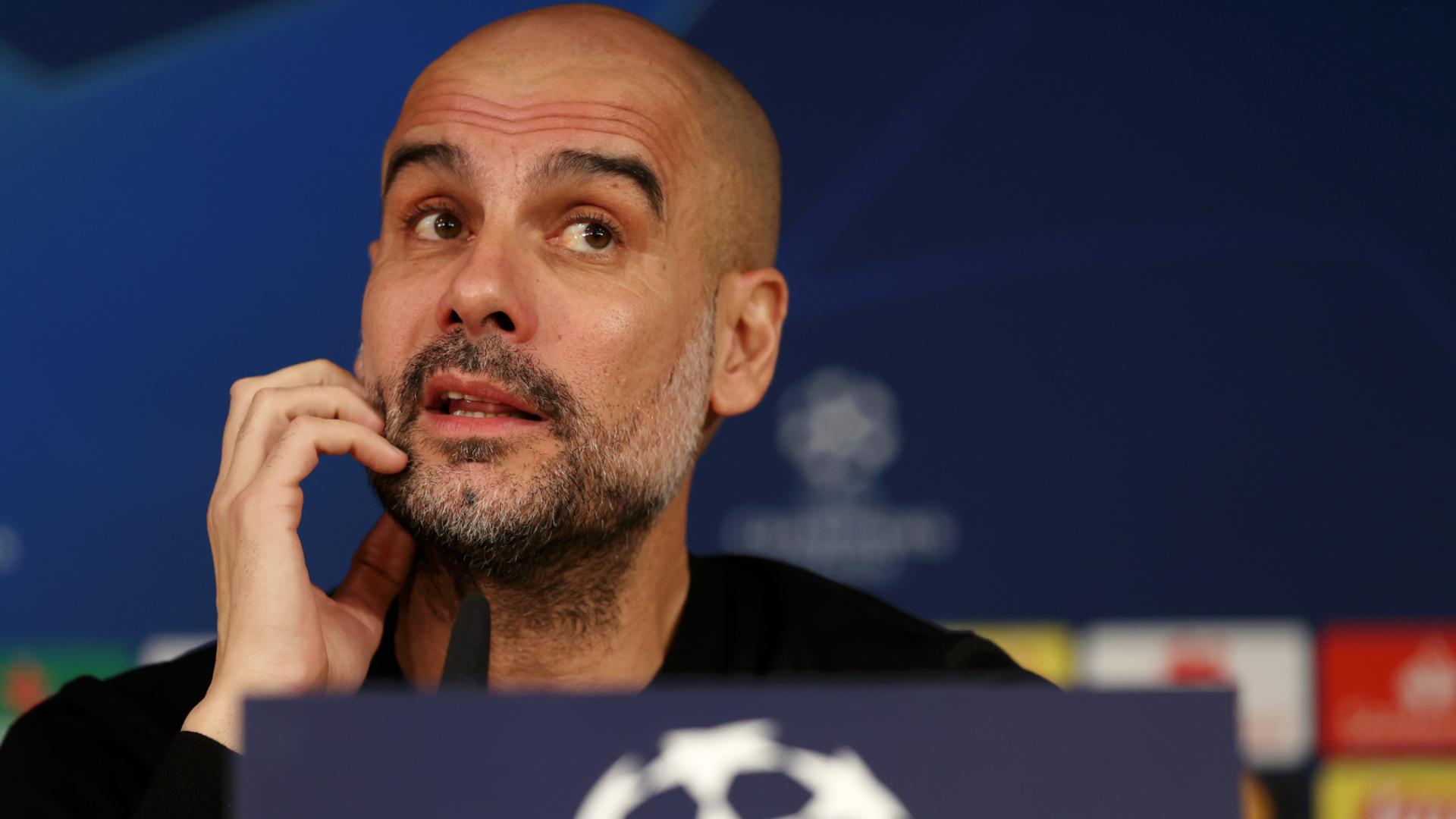 """""""Cette compétition vous punit"""" - Guardiola met en garde Manchester City contre un échec en Ligue des champions"""