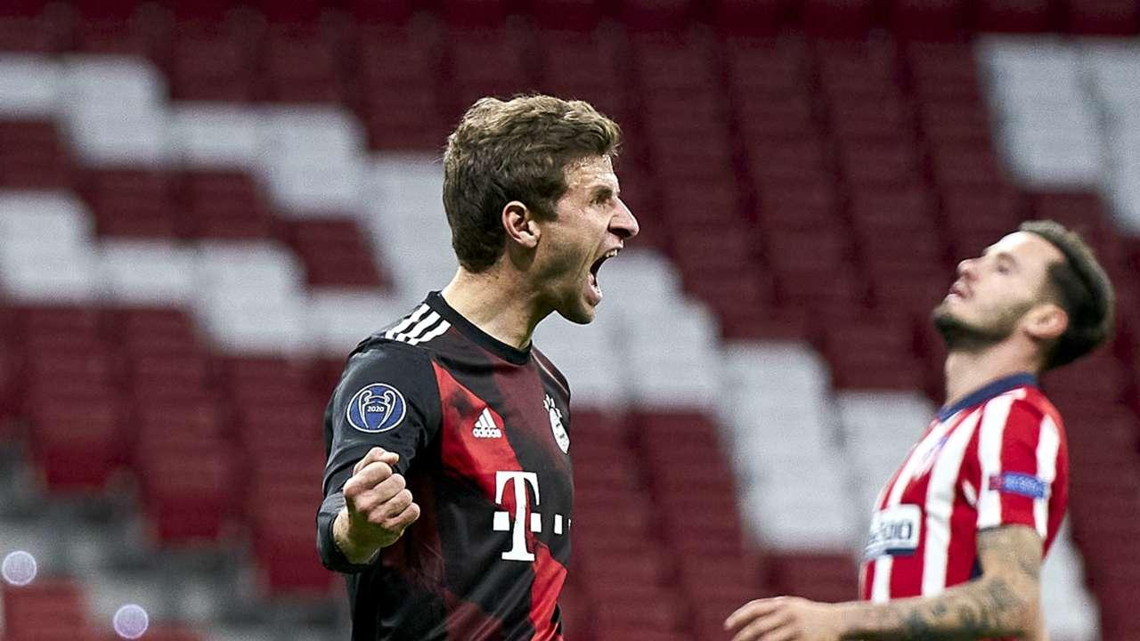 Bayern Munich attacker Thomas Muller