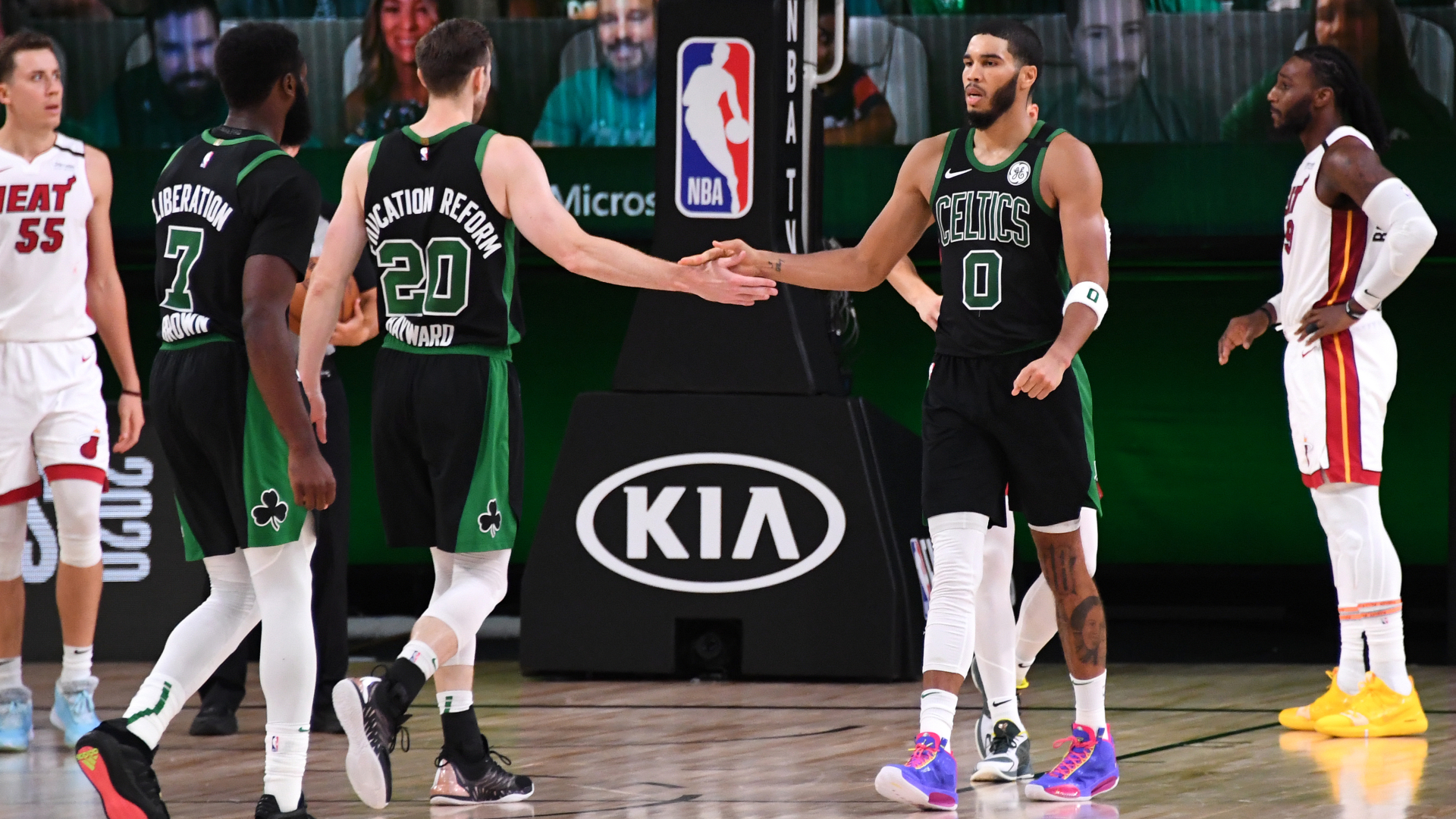 Celtics find the tenacity to come back and win Game 5