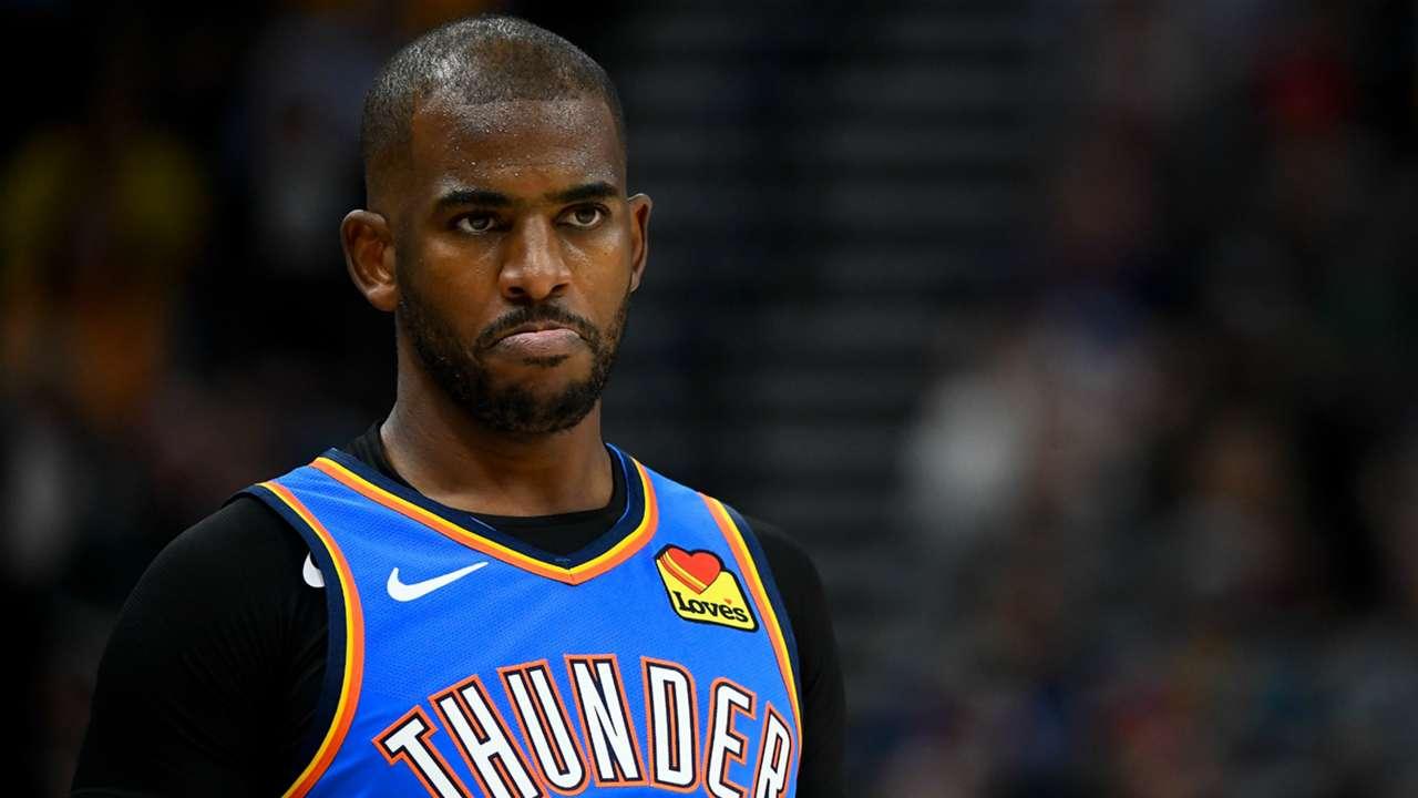 Chris Paul Oklahoma City Thunder v Utah Jazz NBA 10232019