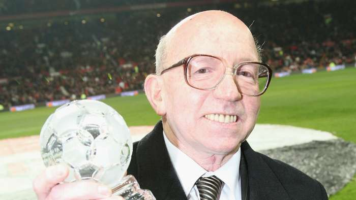 England World Cup winner Nobby Stiles