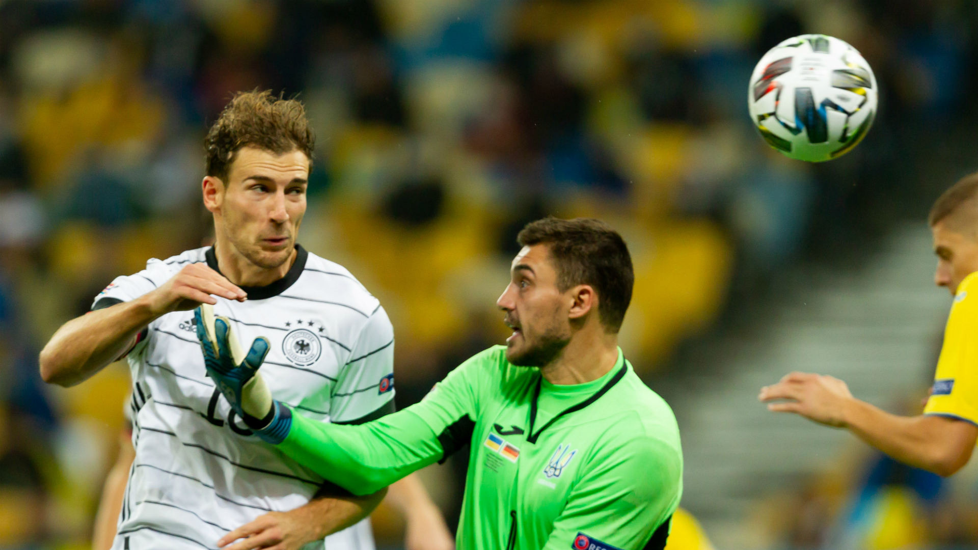Ukraine 1-2 Germany: Bushchan blunder as visitors finally land a Nations League win