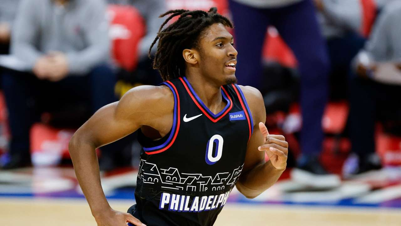76ers rookie Tyrese Maxey
