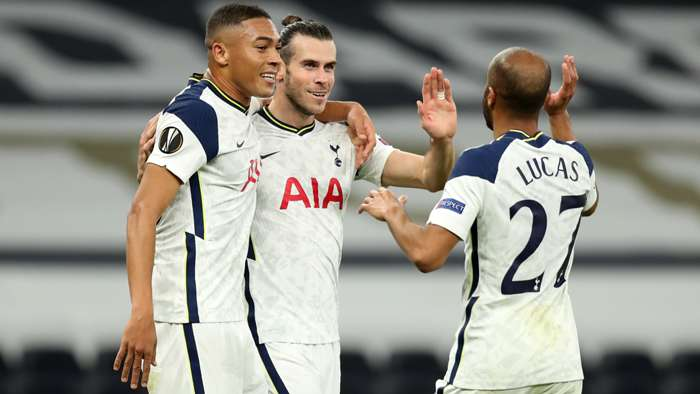 Europa League Report (2020): Tottenham 3-0 LASK - Bale starts as Spurs ease to Europa League win
