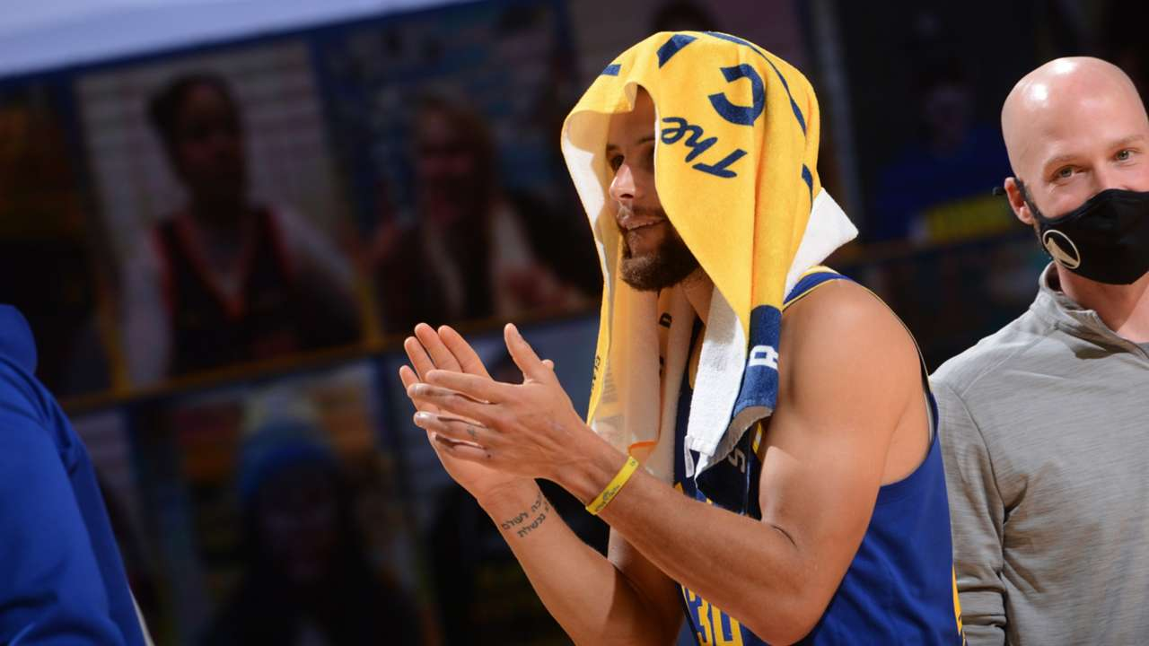 Warriors guard Steph Curry