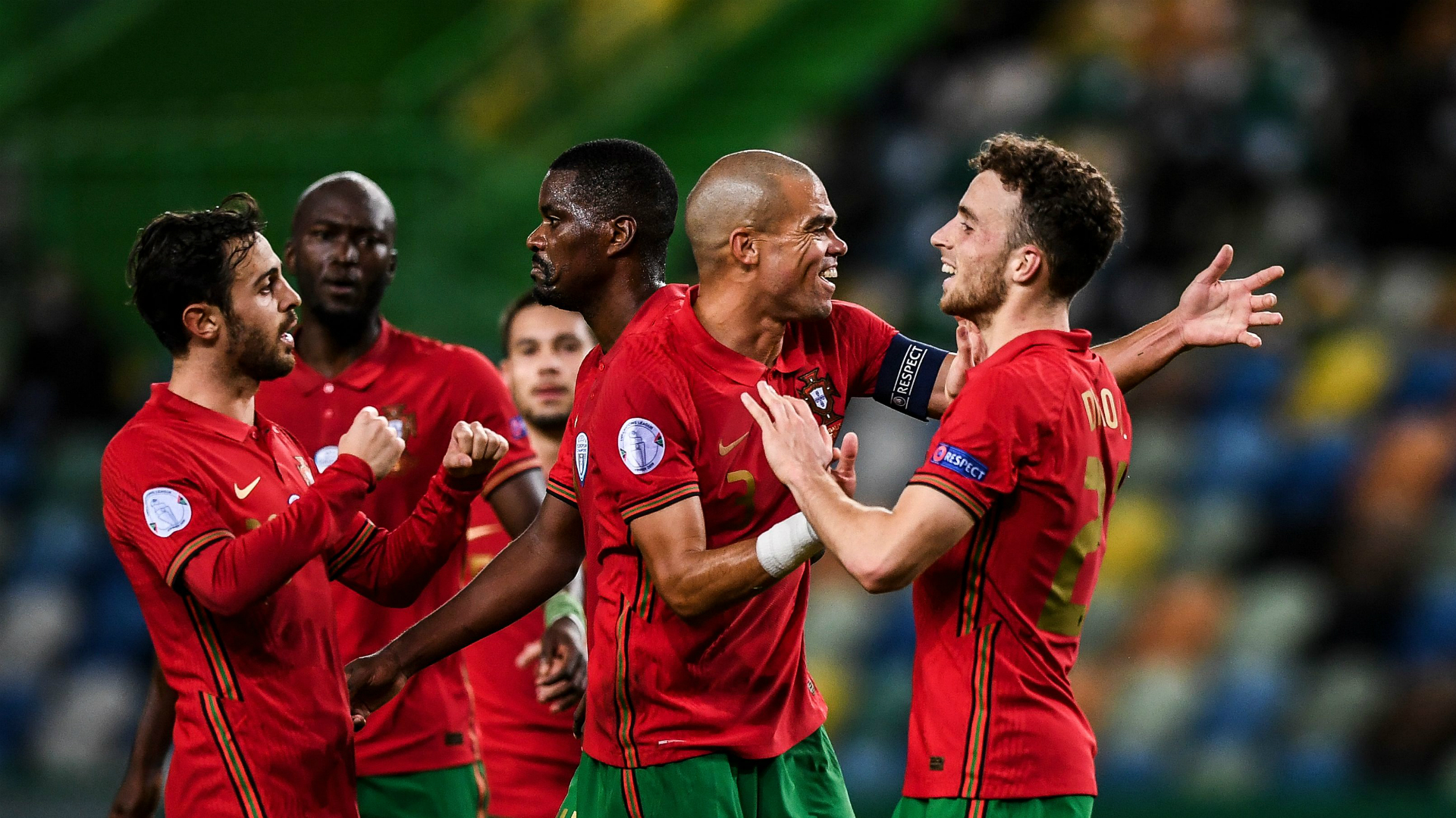 Portugal 3-0 Sweden: Two-goal Jota steps up in Ronaldo absence