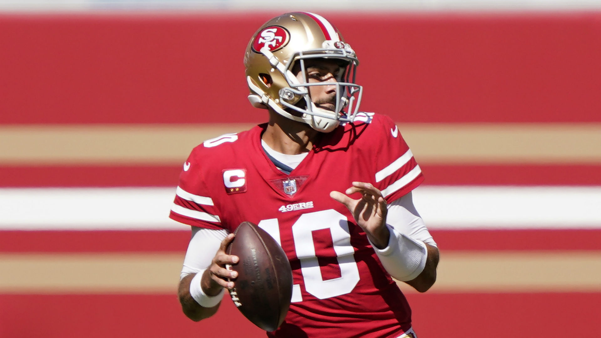 Jimmy Garoppolo injury update: QB full participant in practice as 49ers prepare for Rams