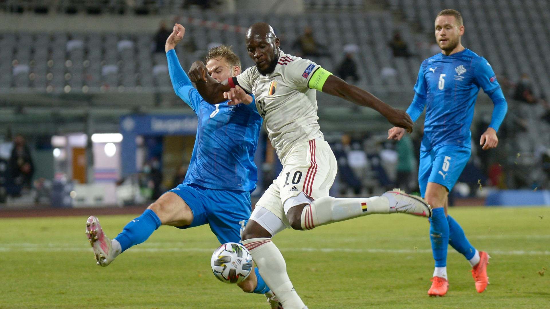 Iceland 1-2 Belgium: Lukaku gets Red Devils back on track and relegates hosts