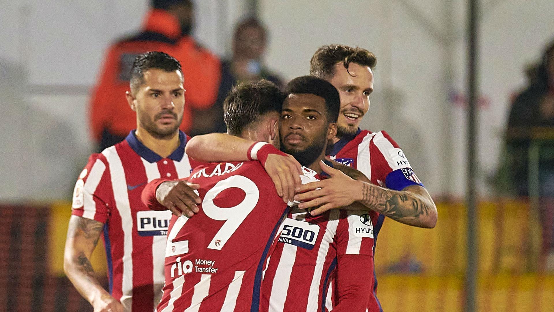 Cardassar 0-3 Atletico Madrid: Lemar leads the way as Simeone's team ease through