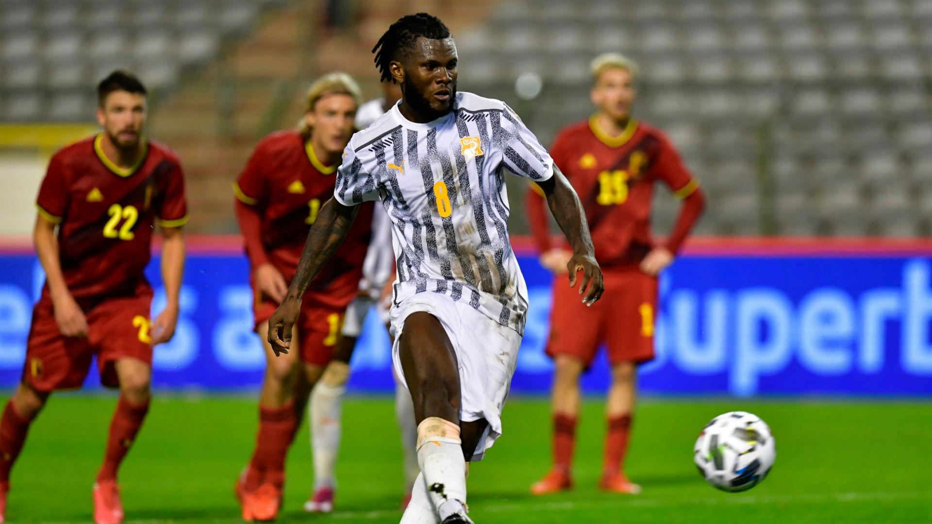 Belgium 1-1 Ivory Coast: Kessie ends Red Devils' winning streak
