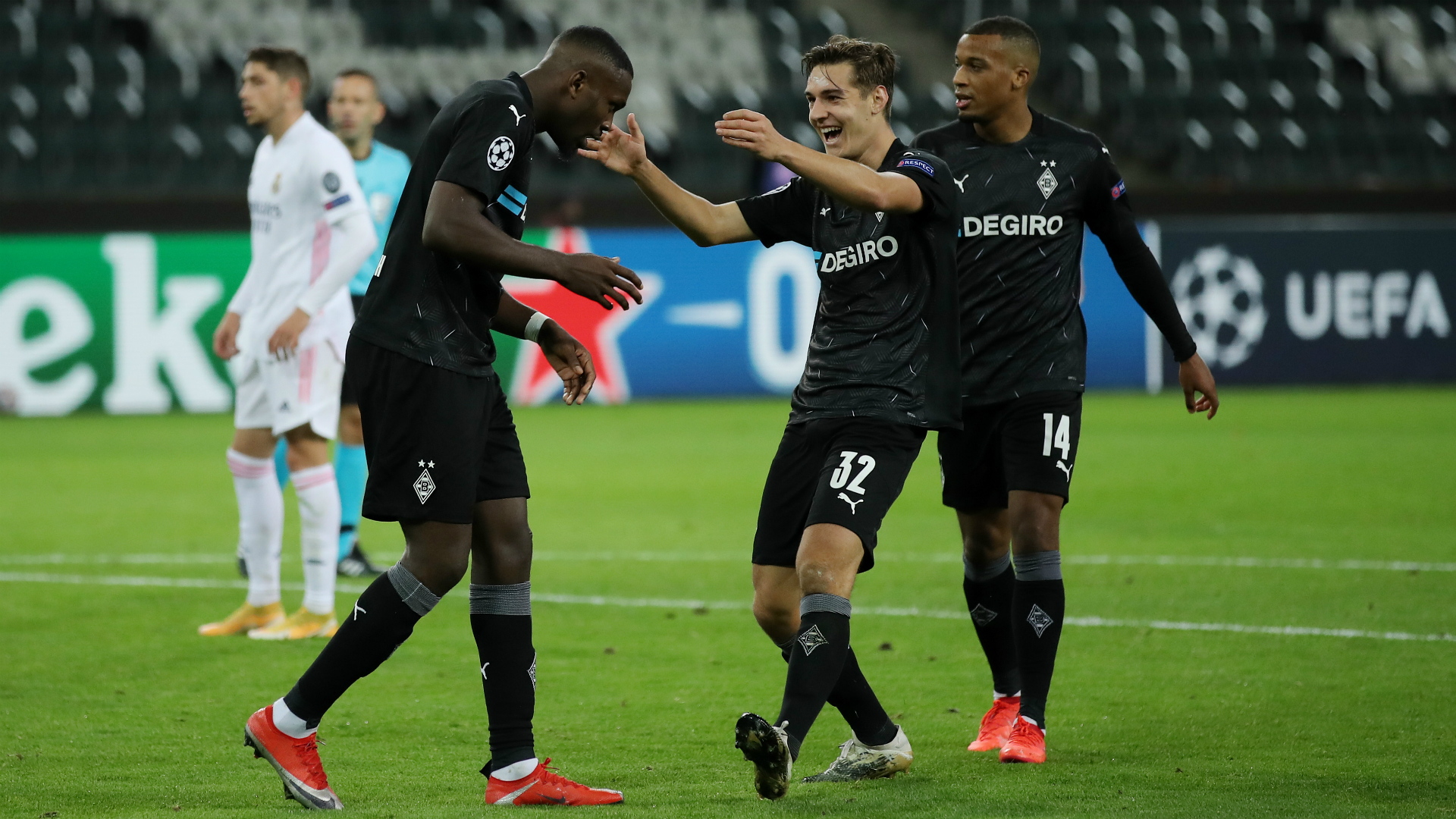 Borussia M'gladbach v Real Madrid Match Report, 27/10/2020, UEFA Champions League | Goal.com