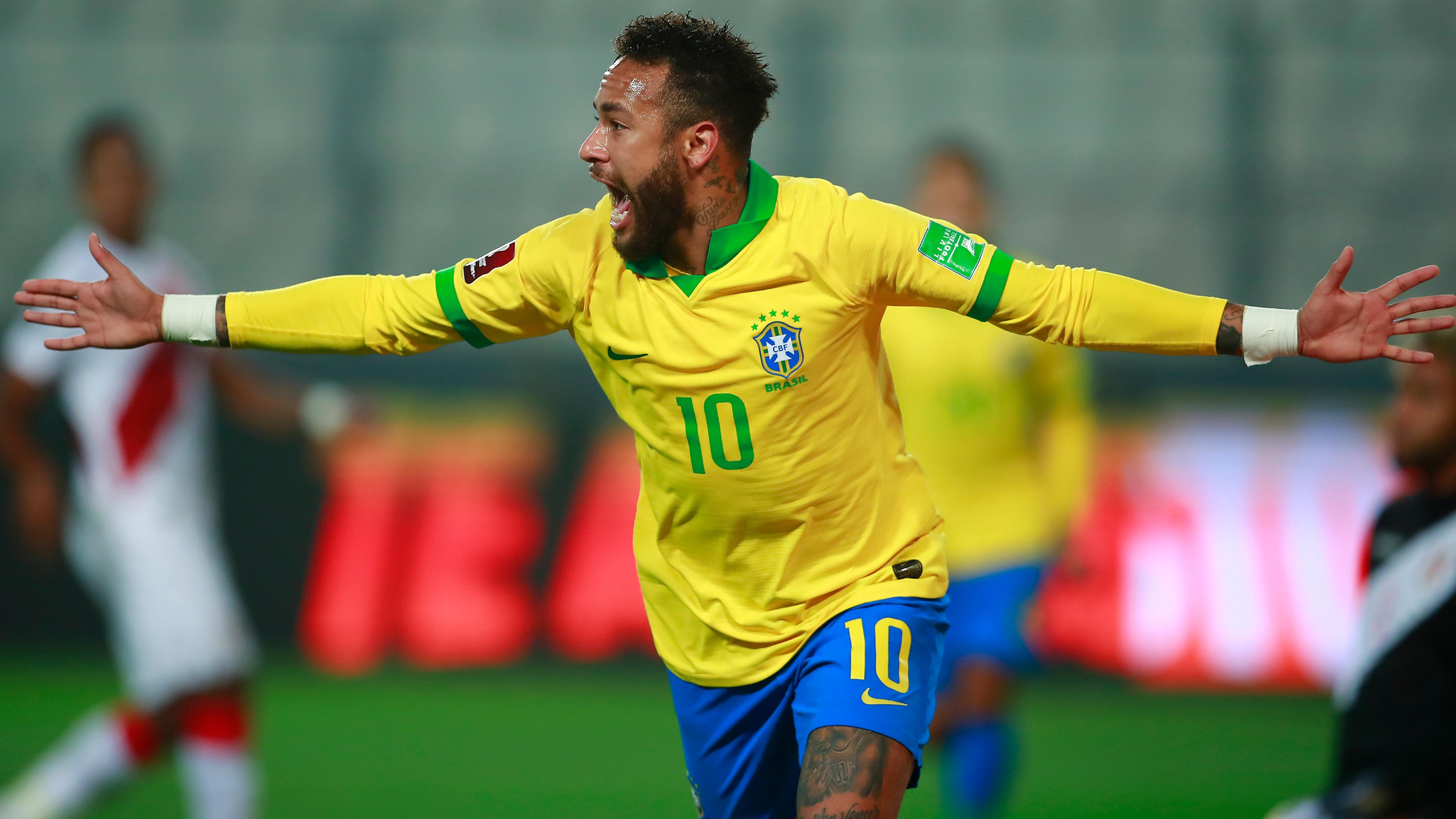 Peru 2-4 Brazil: Neymar passes Ronaldo with hat-trick