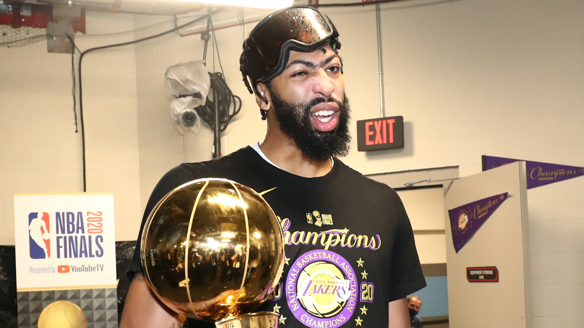 Anthony Davis: No doubt I was returning to Lakers