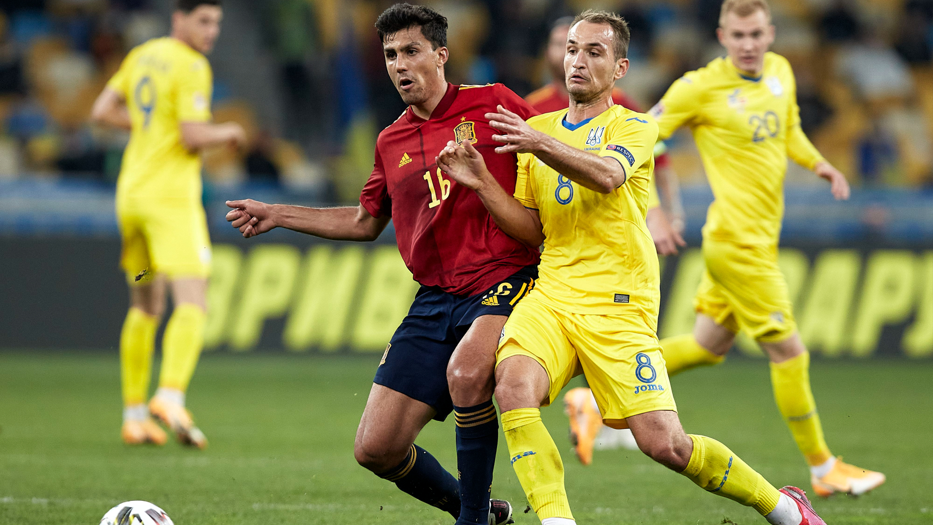Rodri concerned by striker shortage as Spain fire blanks in loss at Ukraine