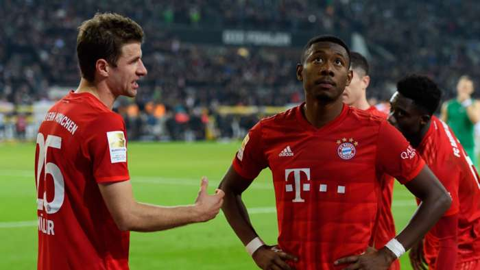 Thomas Muller and David Alaba