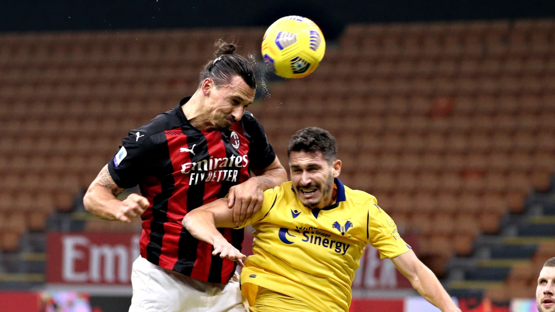 Milan 2-2 Hellas Verona: Zlatan Ibrahimovic salvages late point after  missing penalty   Goal.com
